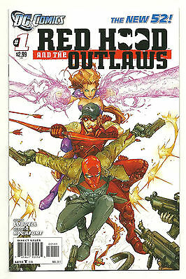 RED HOOD AND THE OUTLAWS #1 DC New 52 High Grade 1st Print Near Mint- NM-