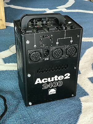 Profoto Acute 2 2400 Power Pack - Works Great