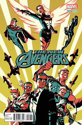 THE NEW AVENGERS #1 VARIANT Cho 1:25 Marvel Comics 1st Print NEAR MINT to NM+