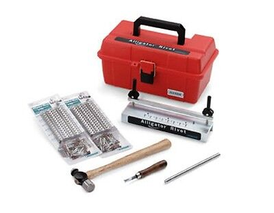 "7"" Baler Belts Repair Kit Alligator Tools Box Kit 