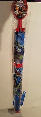 Toddler Unisex Nickelodeon Paw Patrol Ready Action Red Umbrella NEW Ages 3+