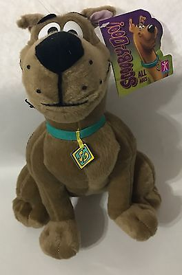 """SCOOBY- DOO Hanna-Barbera & Warner Bros sitting character 10"""" Plush toy with tag"""