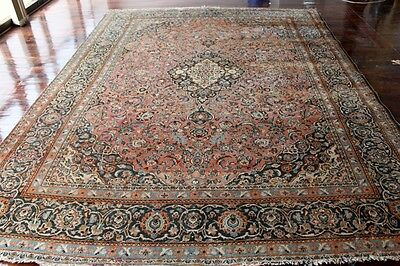 ORIENTAL PERSIAN 100% HAND KNOTTED 100% WOOL RUG 367x276cms