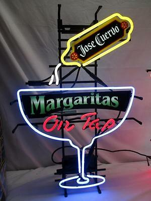 "Fallon JOSE CUERVO MARGARITA Neon Bar Sign , 30"" X 21"", Man Cave, USA, RARE ?"