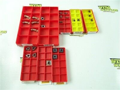 New Lot Of Assorted Sandvik Coromant Carbide Indexable Inserts