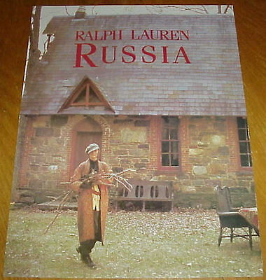 1993 RALPH LAUREN Russian Home Collection KIM NYE 9 Page Magazine Ads #032217