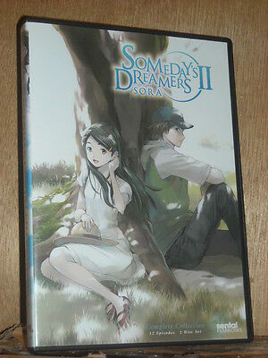 Somedays Dreamers II Sora: Complete Collection (DVD, 2012, 2-Disc Set) Kana Hana