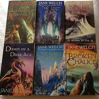 6 JANE WELCH BOOKS Bulk Lot