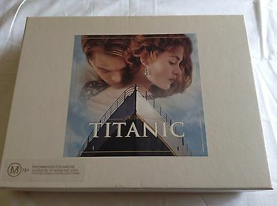 Titanic Vhs Collectors Box Set (Film Script, Collector Cards, Film Cell)