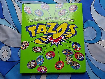 TAZOS COLLECTORS ALBUM COMPLETE 1-220 Looney Tunes Chester Cheeter Simpsons 1996