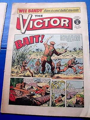East Lancashire Regiment At  Kin Chaung River Burma  Ww2 Cover Story Victor 1972