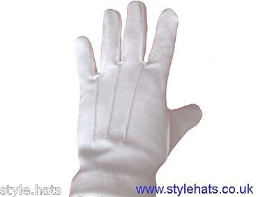 Wholesale Ceremonial White  Dress Gloves Parade Masonic Services Gloves