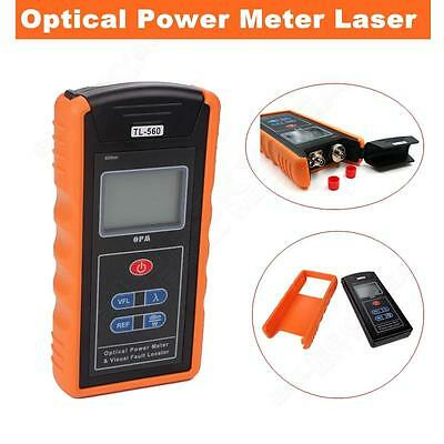 Optical Power Fiber Meter & 10mW Visual Fault Locator TL-560 For CCTV Tester