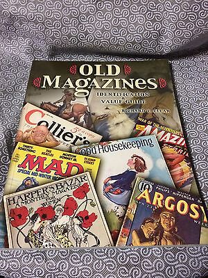 New 2003 Old Magazines Identification & Value Guide Book By Richard Clear