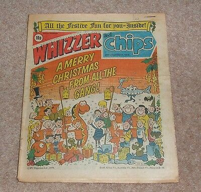 Whizzer and Chips Christmas Issue 29th December 1979