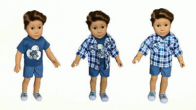 My Brittany's Rock Outfit for American Girl Boy Dolls- 18 Inch Boy Doll Clothes