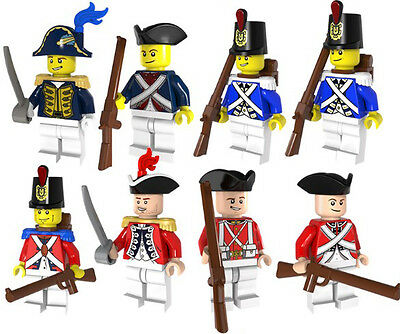 Imperial Sailor Pirate Army Soldier Minifigure Custom Mini Figures Fits Lego