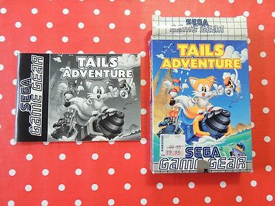Tails Adventure Sega Game Gear nur Anleitung + OVP - only manual + box