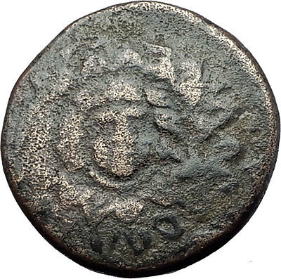 AMISOS in PONTUS 105BC Mithradates VI the Great - Gorgon Nike Greek Coin i61028