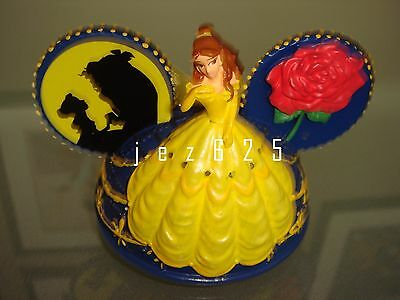 Disney Paint The Night Beauty & Beast Light-up ear hat ornament