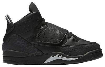 Jordan SON OF BG BLack//Metallic Silver 512246-010 Youth Size/'s