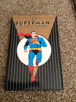 Superman The Man Of Tomorrow Archives Volume 2 DC archives Edition