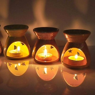 Oil Burner For Fragrance Oils With Candle Wax Melts Ceramic With Candle Free Oil