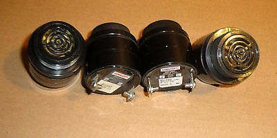 Lot of four Mallory Sonalert SC110D 30-120VAC, 6-21MA alarm sirens NOS