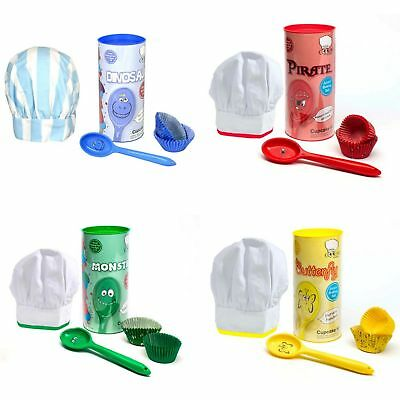 Childrens/Kids Character Cupcake Baking Set