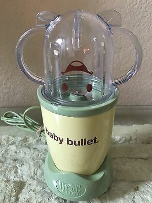 Baby Bullet and Food Processing Cup