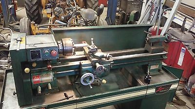 Logan 11 inch lathe.  Variable speed.  1 3/8 thru spindle