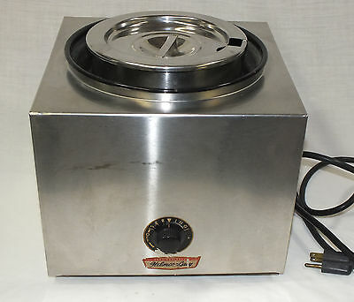 Helmco-Lacy 2-1R Commercial Nacho Cheeze Soup Stew Chili Hot Fudge Warmer