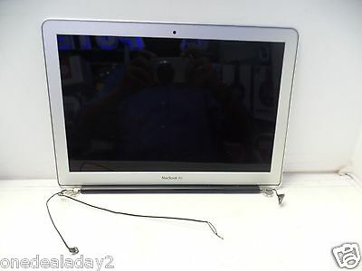 "Apple MacBook Air A1466 13"" Mid 2013 2014 2015 LCD Full Assembly AS IS Cracked"