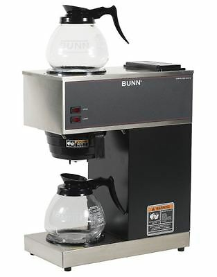 Restaurant Coffee Maker Commercial Automatic Bunn Brewer Warmers 2 Pots