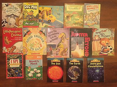 Scholastic Children's Books Easy Early To Read Youth Lot Of
