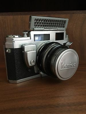 Konica III M with 50mm Hexanon F1.8 camera vintage