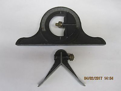 Vintage Protractor and Center Head for a Combination square