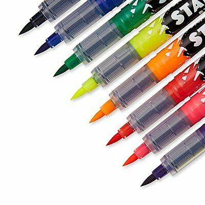 NEW ✿ Sharpie Stained Brush Tip Fabric Markers Pens ✿ 8 Colours ✿