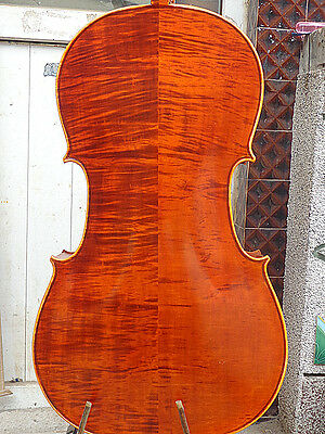 NEW Cello 4/4 Size full Hand made antique old style handcarved bright sound