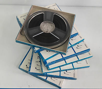 "LOT 3 REELS WITH BOX MAGNETIC DE 7"" (18 cm - REEL TO reel TAPES"
