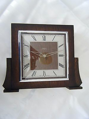 Vintage Smiths 8 Day Mantle Clock