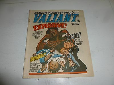 VALIANT Comic - Date 17/01/1976 - IPC UK Comic