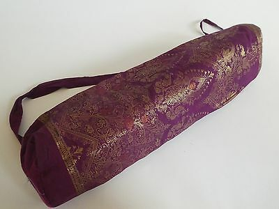 Yoga & Pilates  Bag Handmade From Indian Sarees Many Different Colours & Designs
