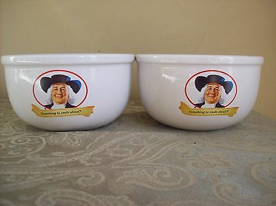 Two Quaker Oats Cereal Bowls 2006 Great Collectibles , Great Condition