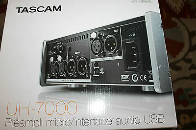 Tascam UH-7000 Audio Interface Mic Preamp/USB