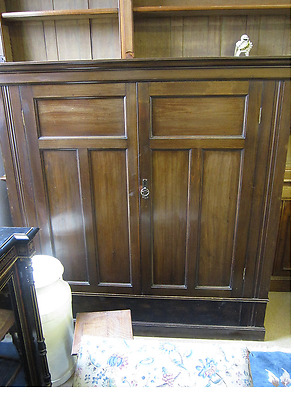 Edwardian Mahogany Hall Cupboard, Shabby Chic project, TV Cabinet