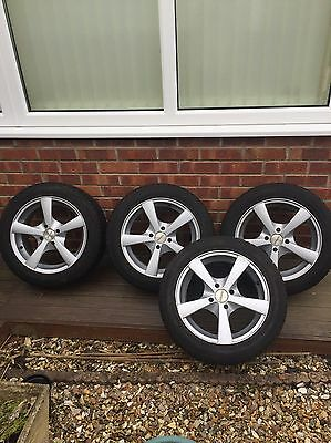 "Dezent Alloy Wheels And Continental Tyres 15"" x4"