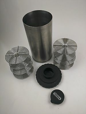 Hansa Japan Stainless Steel Film Developing Tank with 4 - 35mm Reels