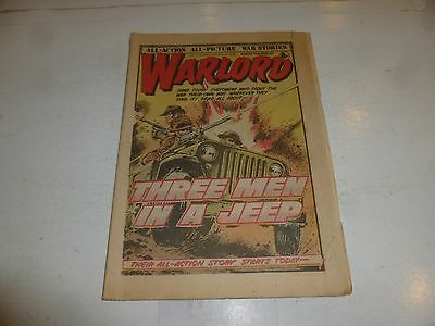 WARLORD Comic - Issue 219 - Date 02/12/1978 - UK Paper Comic