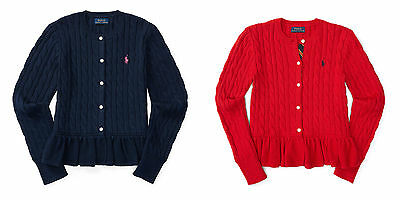 Ralph Lauren Girls Cardigan/ Jumper